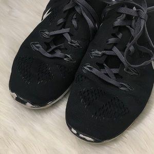 Nike Shoes - Nike Free 5.0 Cross Trainer Black Tennis Shoes